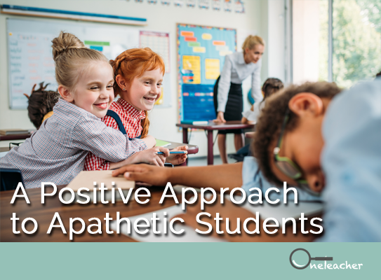 how to approach apathetic students